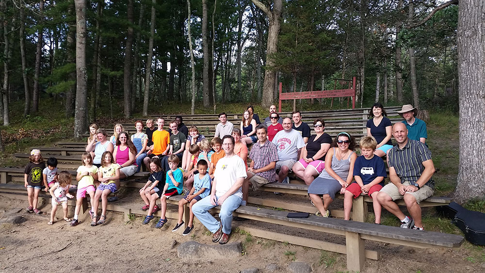 Fall Pine Lake Family Camp Service
